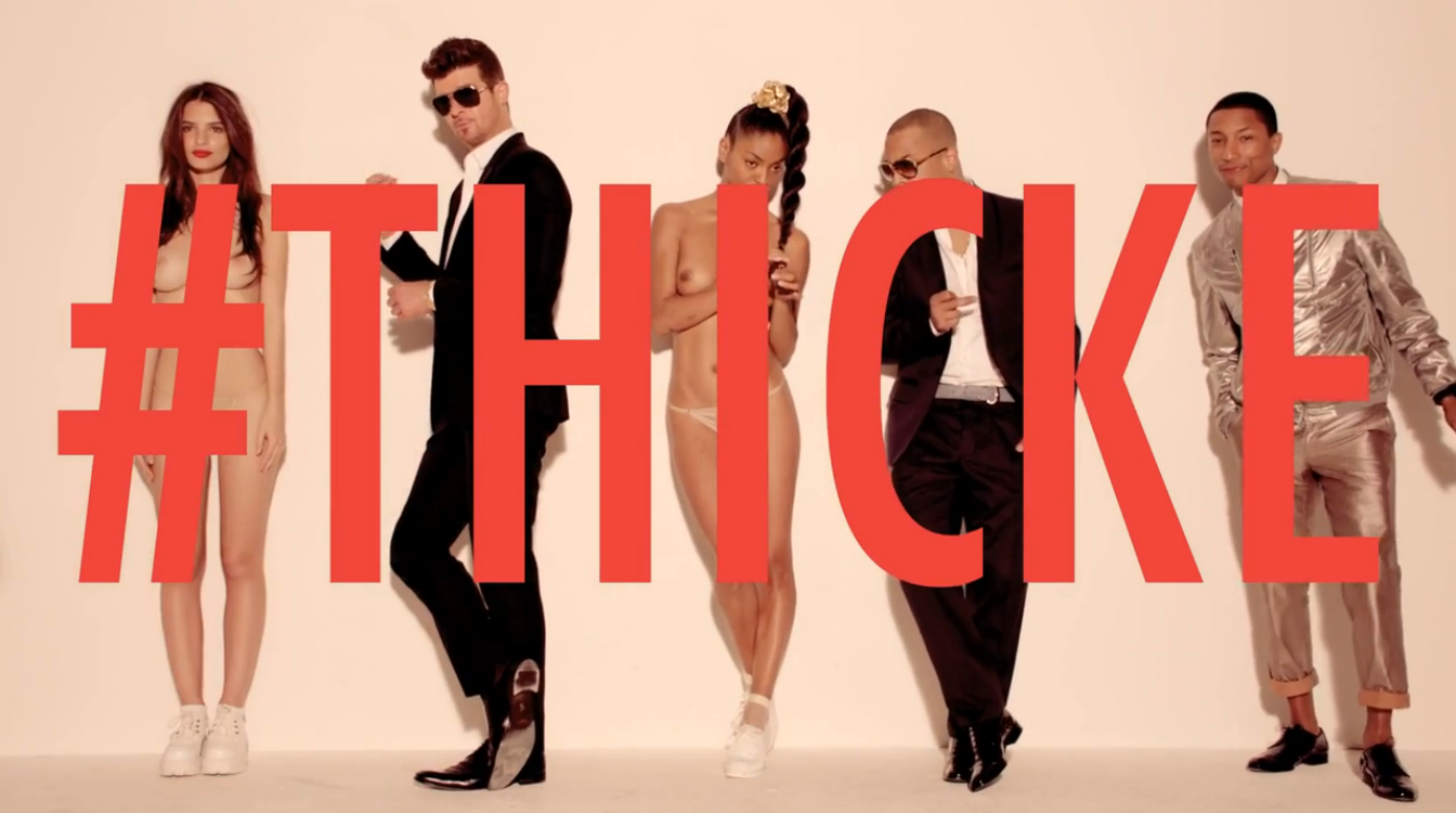 Robin Thicke's 'Blurred Lines' No.1 on UK Charts