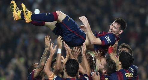 Lionel Messi Breaks All-Time La Liga Scoring Record